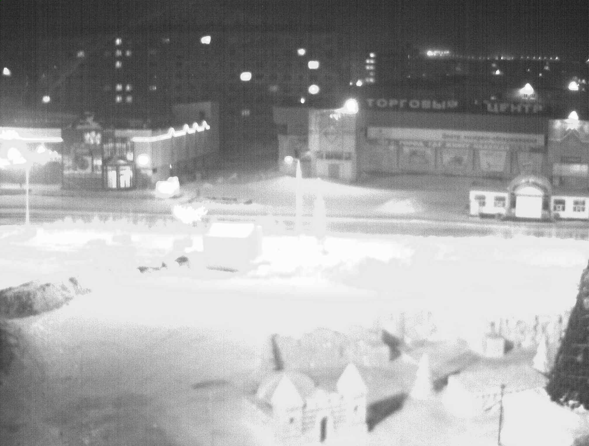 Веб-камера у здания администрации Норильска